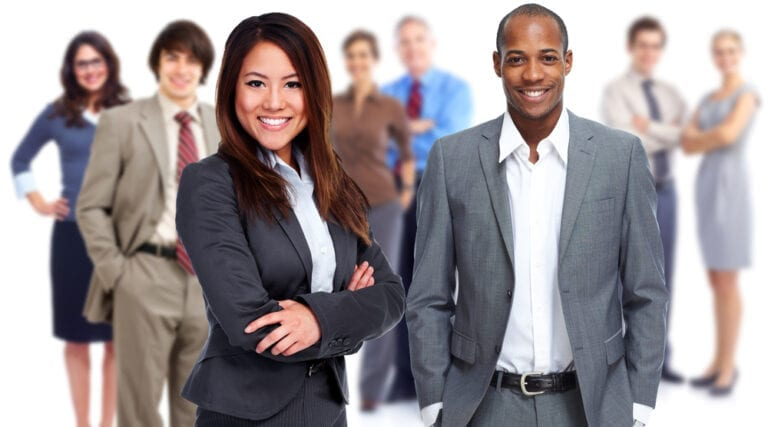 Wealthy Affiliate Male and Female Insurance Agents