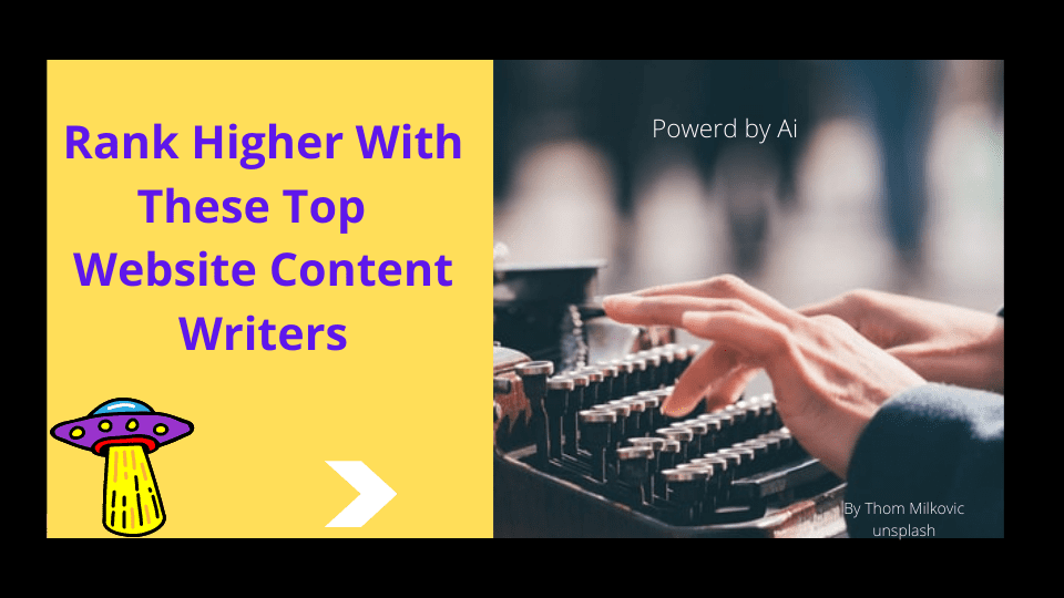 Rank Higher With Website Content Writers