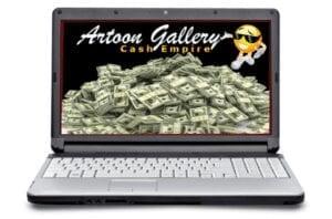 Artoon Gallery Cash Empire Review - Product Logo