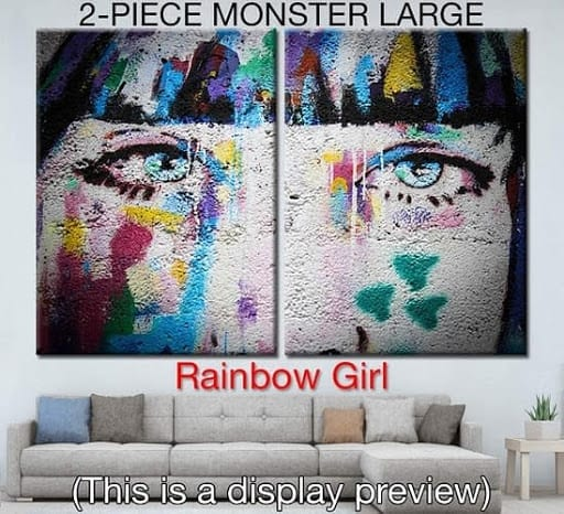 Artoon Gallery Cash Empire Review - Rainbow Girl Art